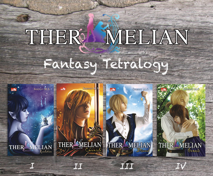 Ther Melian Merchandise and Book sale! (3/4)