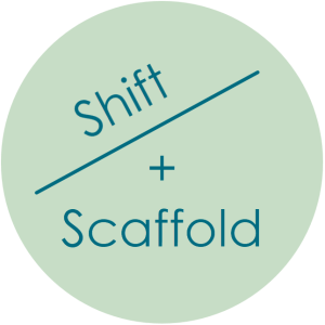 Shift and Scaffold logo