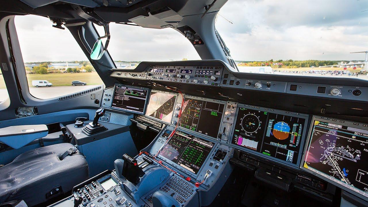 Airbus A350 Kokpit