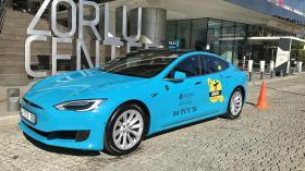 Tesla taksi İstanbul sokaklarında!
