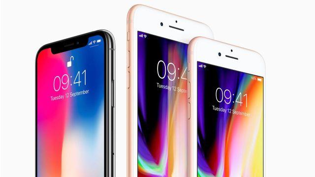 iPhone X, iPhone 8