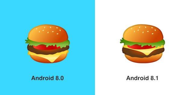 hamburger emojisi