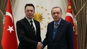 Erdoğan, Elon Musk ile bir araya geldi!