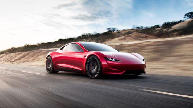 Yeni Tesla Roadster test sürüş videosu!