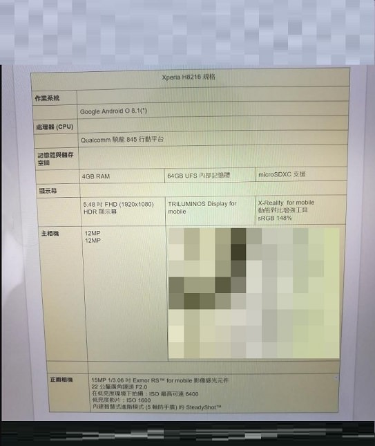 Sony'nin yeni Xperia amiral gemisi