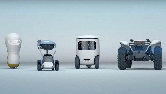 Honda 3E robot konsepti!