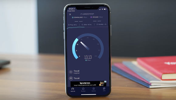 iPhone X - Speedtest.net