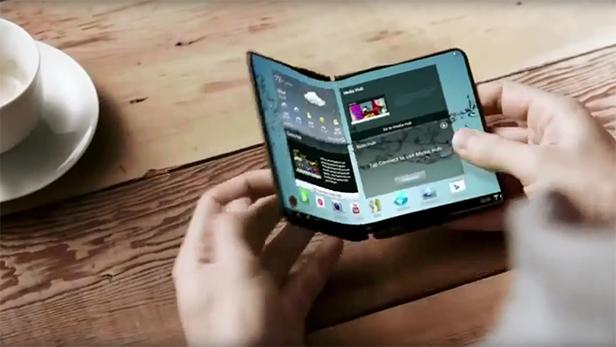 samsung, Samsung katlanabilir telefon