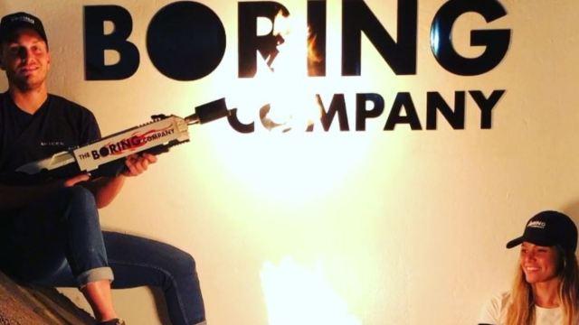 elon musk alev silahı The Boring CompanyFlamethrower