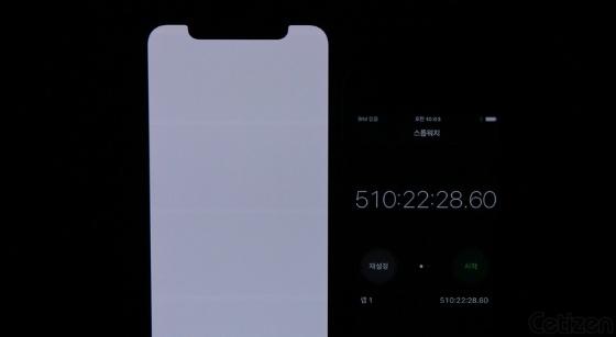 iPhone X ekranı