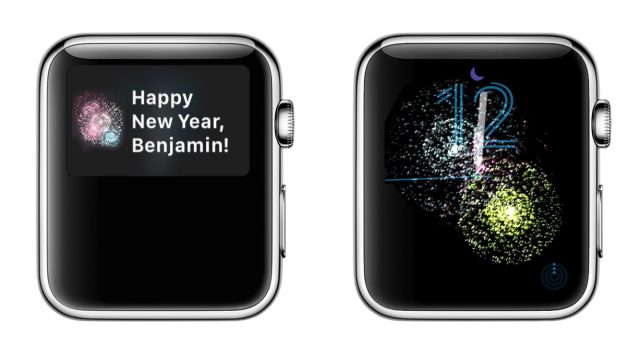 apple watch yılbaşı animasyonu
