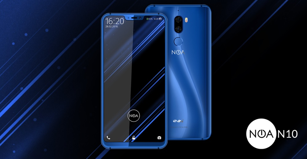 iPhone X klonu NOA N10