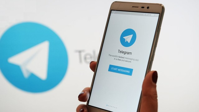 telegram kullanarak mining sdn 2