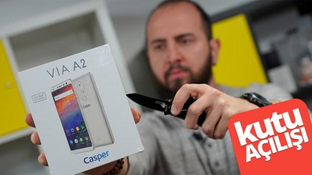 Casper VIA A2 kutu açılışı