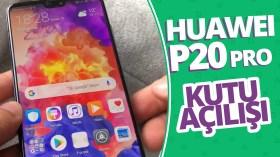 Huawei P20 Pro kutusundan çıkıyor