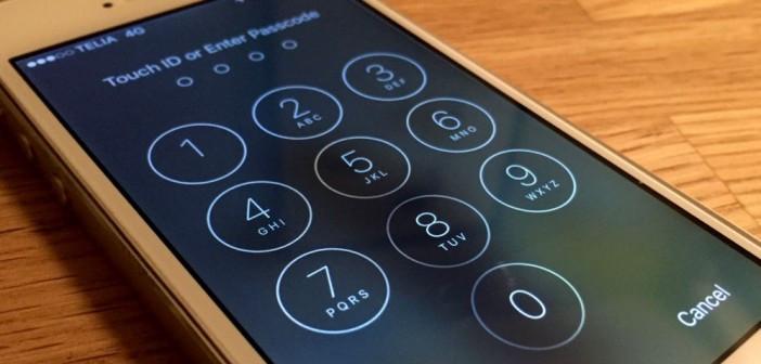 iPhone yanlış şifre
