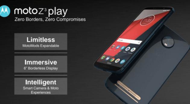 Moto Z3 Play hakkında bazı detaylar ortaya çıktı