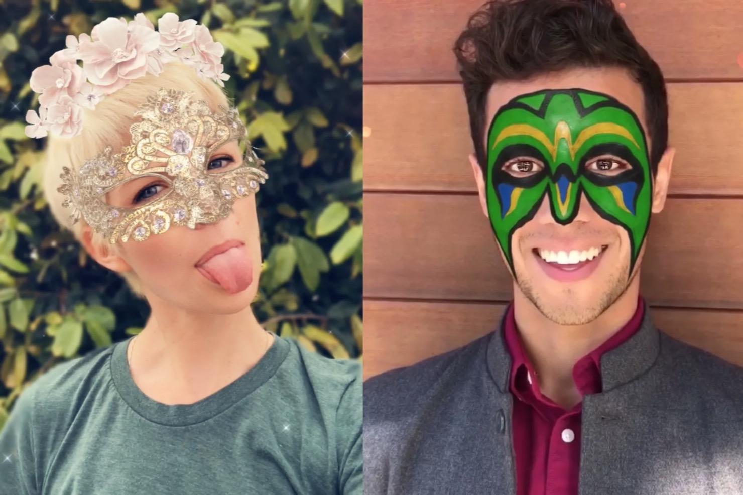 Snapchat filtreleri