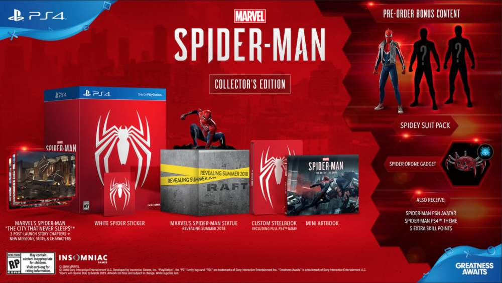 Spider-Man Collector's Edition