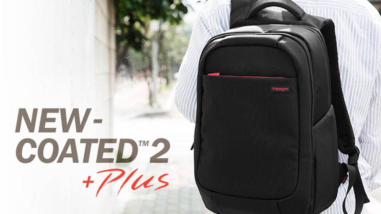 spigen new coated 2 plus spigen notebook çantası