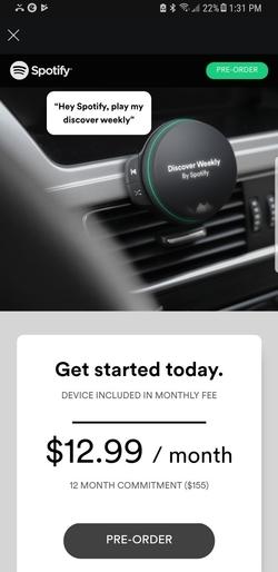 Spotify yeni cihazını tanıtma hazırlığında!