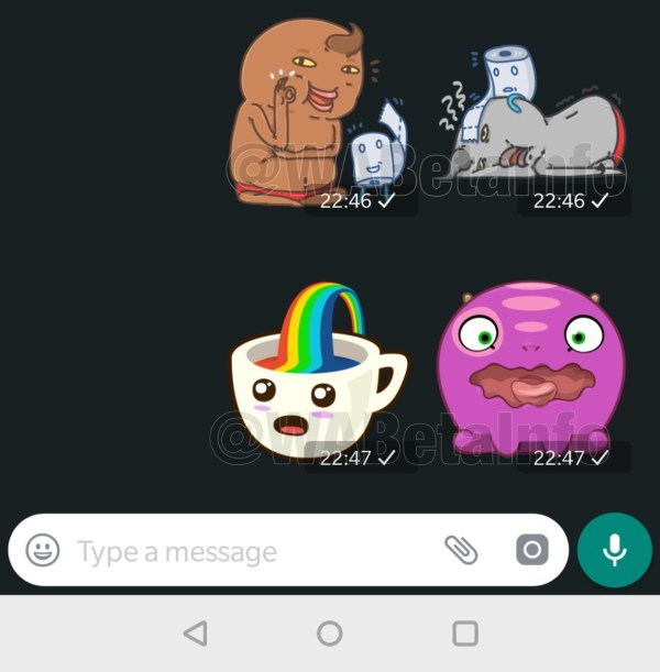 WhatsApp konum etiketi