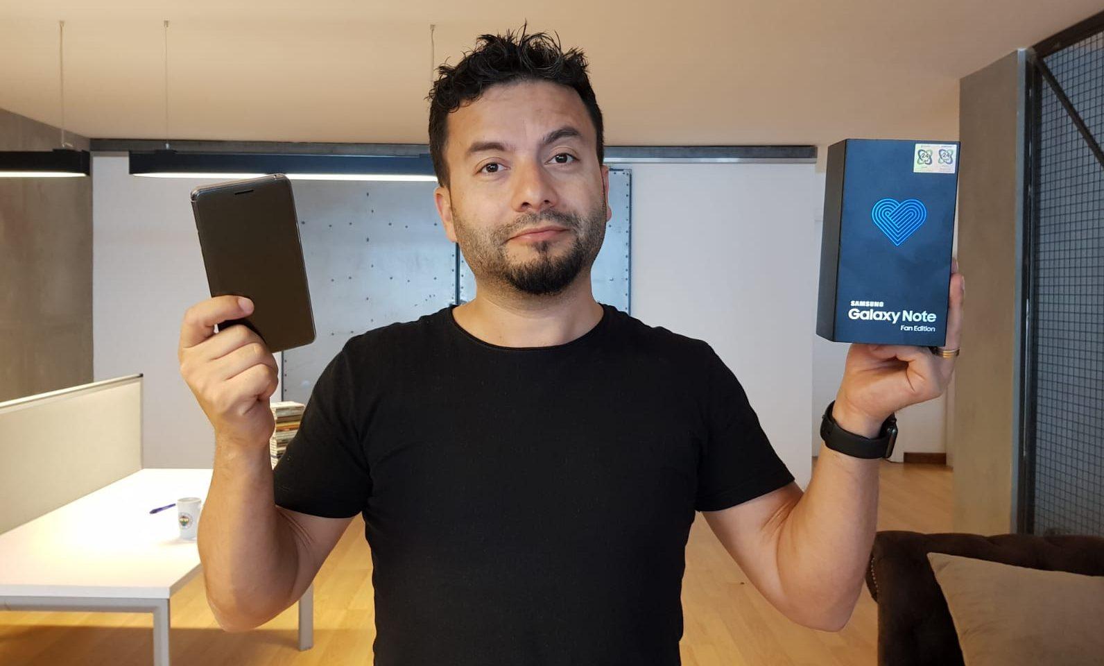 Galaxy Note FE hediye ediyoruz