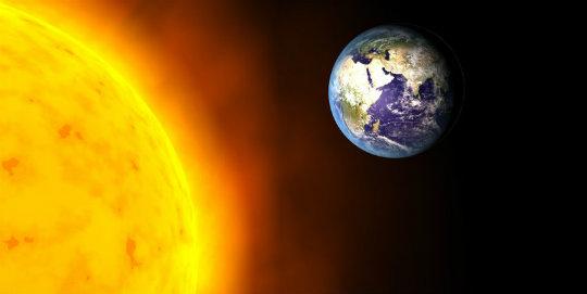 Dünyanın yörüngesi