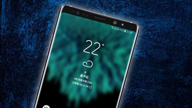 Samsung Galaxy Note 9 görseli ortaya çıktı!