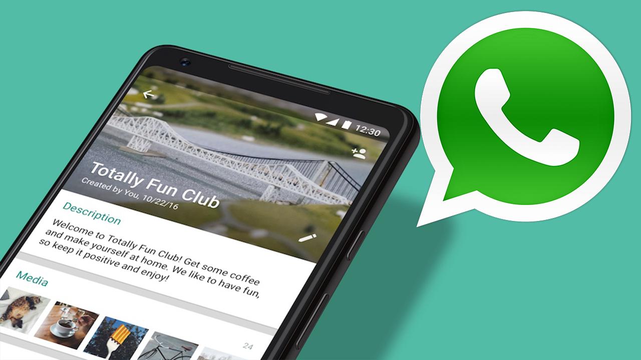 WhatsApp grup özellikleri