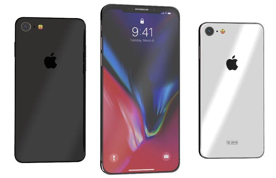 lcd ekranlı iphone
