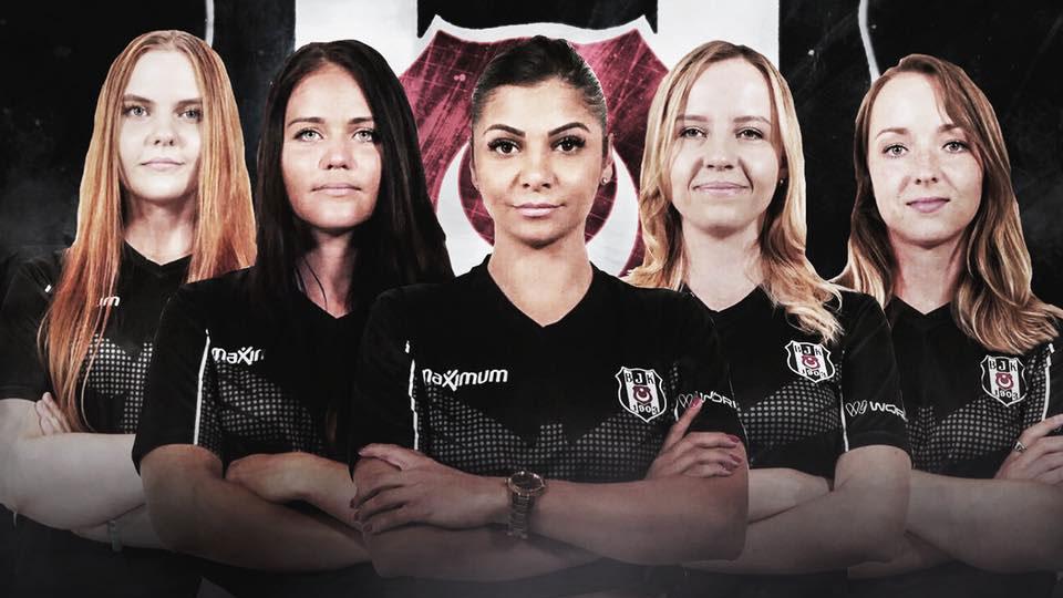 Beşiktaş kadın CS GO takımı