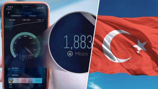 En hızlı internete sahip ülkeler! Türkiye'nin küçük yükselişi!