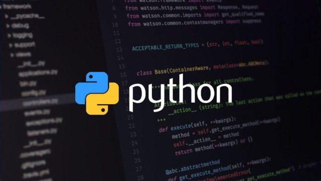 Python öğrenmek