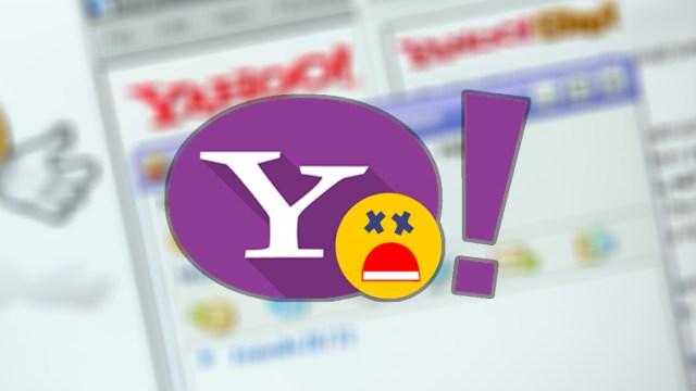 Yahoo Messenger kapandı!