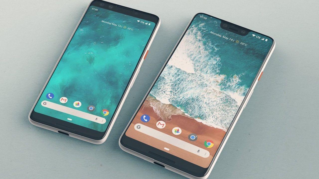Google Pixel 3 XL tasarımı