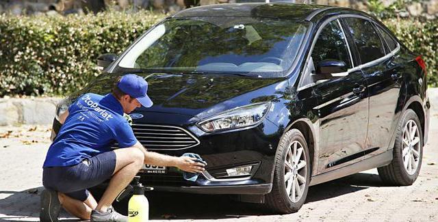 otoparlat otomobil yıkatan uygulama