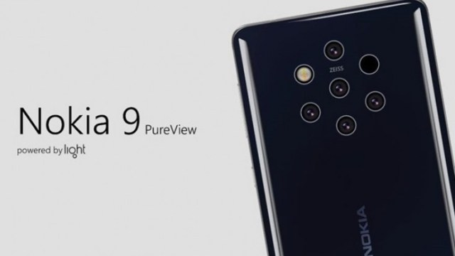 5 kameralı Nokia 9 PureView