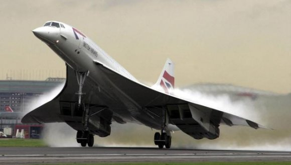 Corcorde uçağı