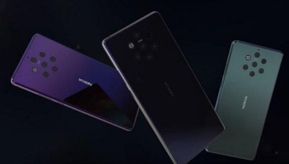 5 kameralı Nokia 9 canlı olarak görüntülendi