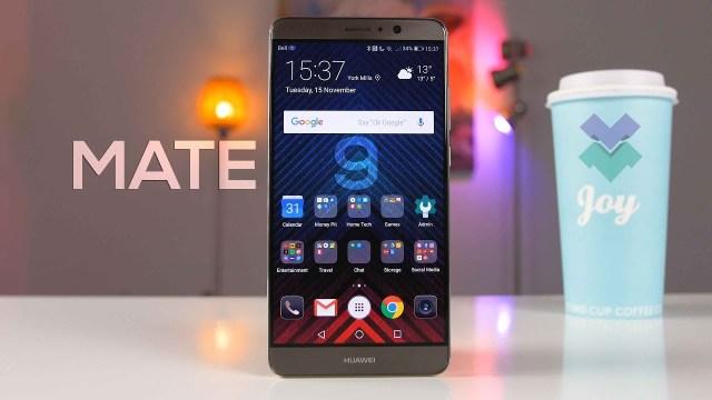 Huawei Mate 9 Android Pie güncellemesi / EMUI 9