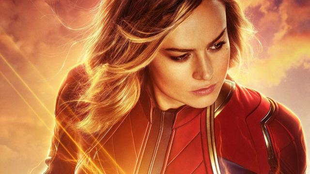Captain Marvel karakter posterler