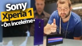 Sony Xperia 1 ön inceleme! (Video)