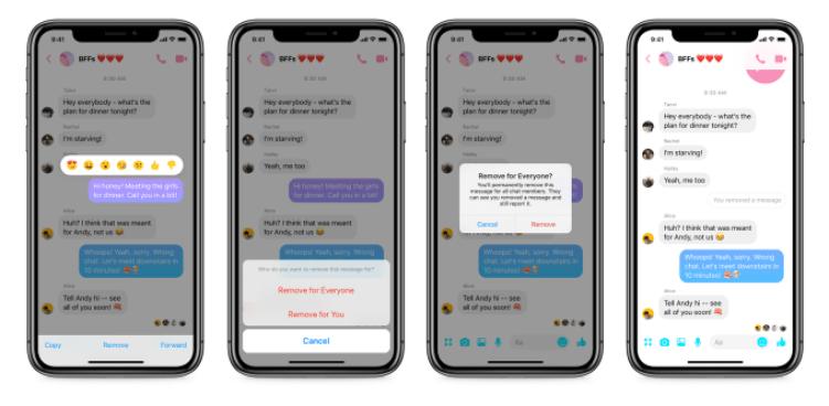 Facebook Messenger mesaj silme özelliğini sundu! SDN-2