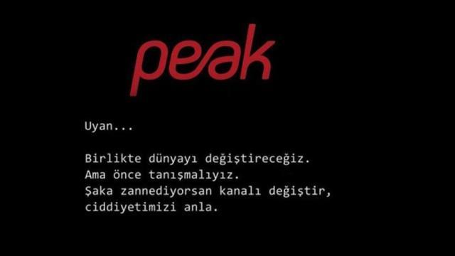 Peak Games reklamı