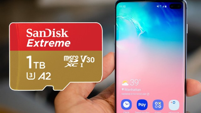 SanDisk'ten dünyanın ilk 1 TB microSD kartı!