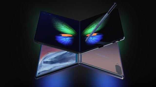 Katlanabilir telefon Galaxy Fold 2 konsepti