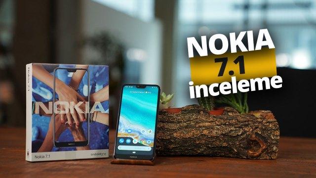 Nokia 7.1 inceleme