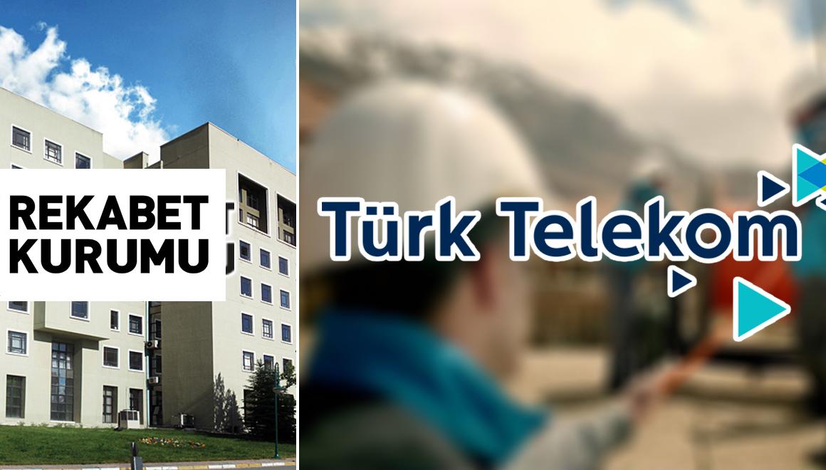 Rekabet Kurumu Türk Telekom için soruşturma başlattı!