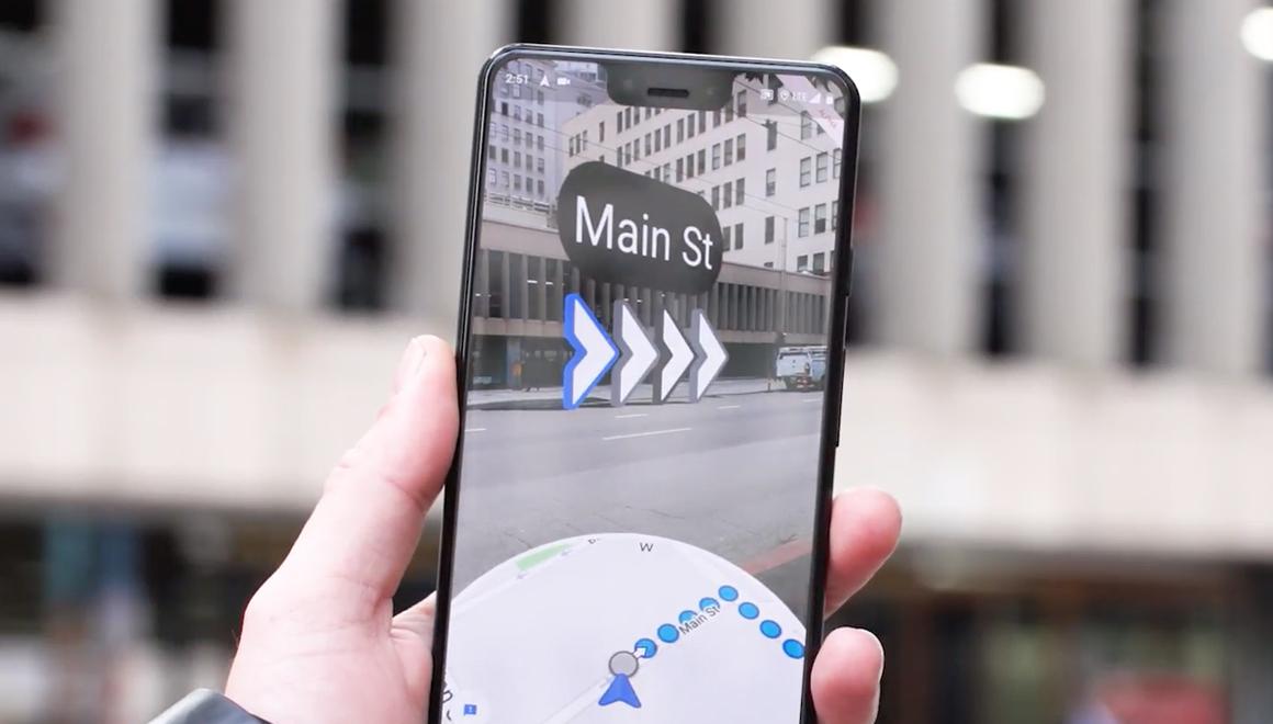 Google Maps AR Beta, Android ve iOS'a geldi!